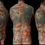 Foo Dog backpiece by Jo Harrison