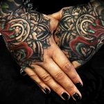 mandala hand tattoos by Jo Harrison