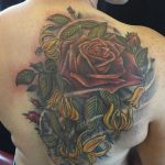 rose upper backpiece by Jo harrison