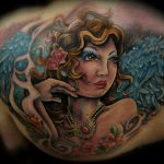 angel upper backpiece by Jo Harrison
