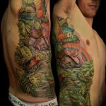 tropical rib piece by Jo Harrison