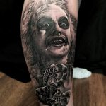 Beetlejuice tattoo by Greg Bishop
