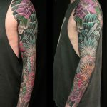 rooster and rabbit sleeve by Ellie Richmond