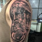 Temple of the gods - greek realism tattoos