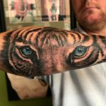 Tiger tattoo-realism-portrait