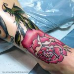 Traditional rose by Frances Anne Faith