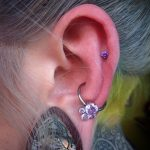 Helix and conch with QualiTi and Industrial Strength jewellery by Gee in Birmingham
