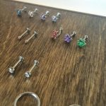 QualiTi piercing jewellery at Modern Body Art Birmingham