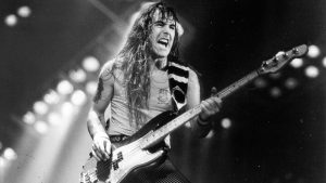 Steve Harris tattoos