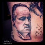 marlon brando godfather portrait by matt hunt