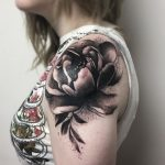 Peony cover-up
