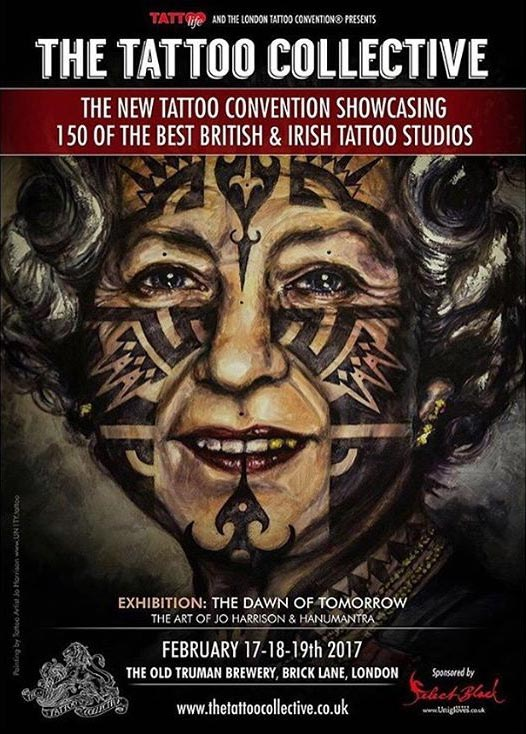 Tattoo collective and big north tattoo show artist news for Nc tattoo conventions 2017