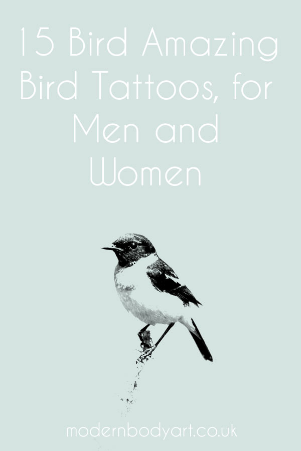 15 amazing bird tattoos, ideas for men and women